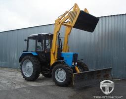 Беларус МТЗ-1221: технические характеристики трактора