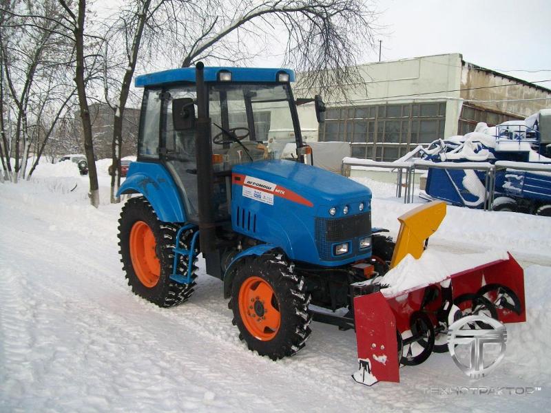 Щетка для уборки снега для мотоблока