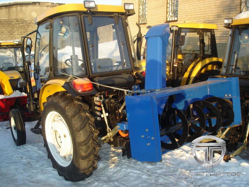 Снегоочиститель роторный МТЗ, шнекороторный.