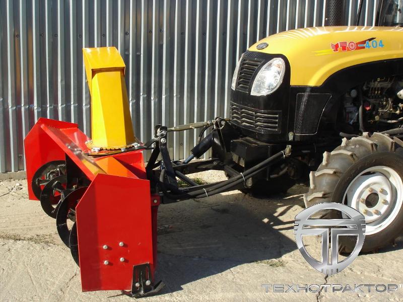 Роторный снегоочиститель на трактор и минитрактор РХ-160