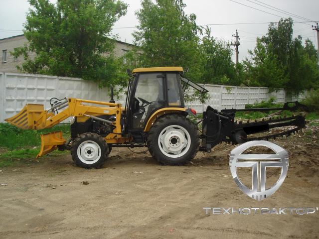 Грунторез 2086.31. Навесное оборудование трактора МТЗ-82