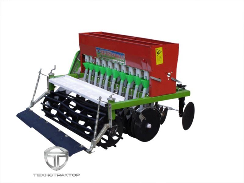 Сеялка зерновая для минитрактора своими руками