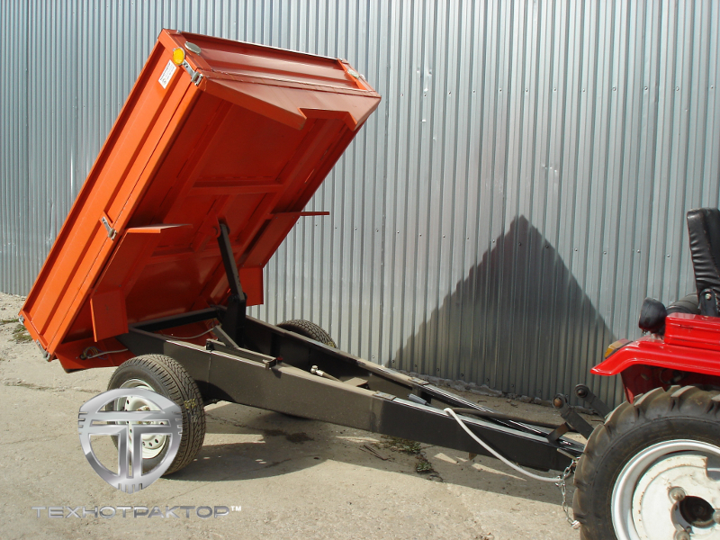 Прицепы для тракторов - цена в Москве. Купить прицеп для.